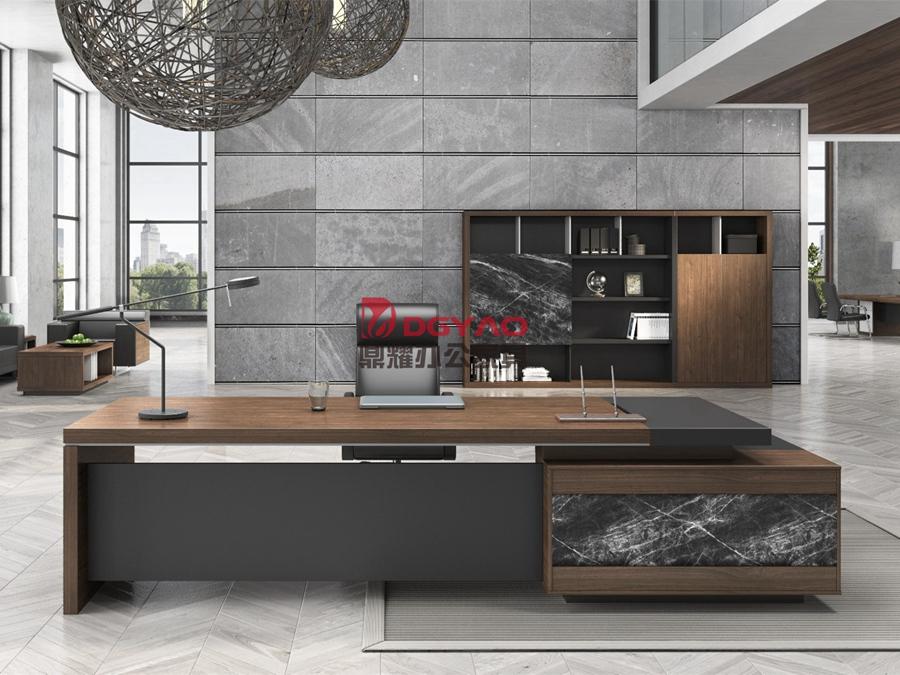 芜湖板式家具经理桌-01